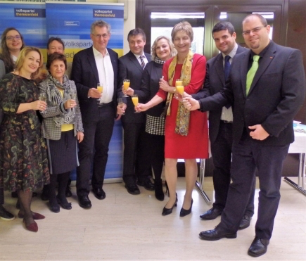 Martin Preineder - Neujahrsempfag Theresienfeld