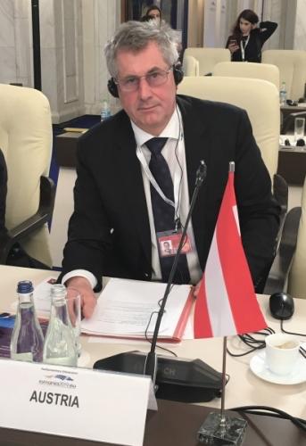 Martin Preineder - Tagung in Bukarest