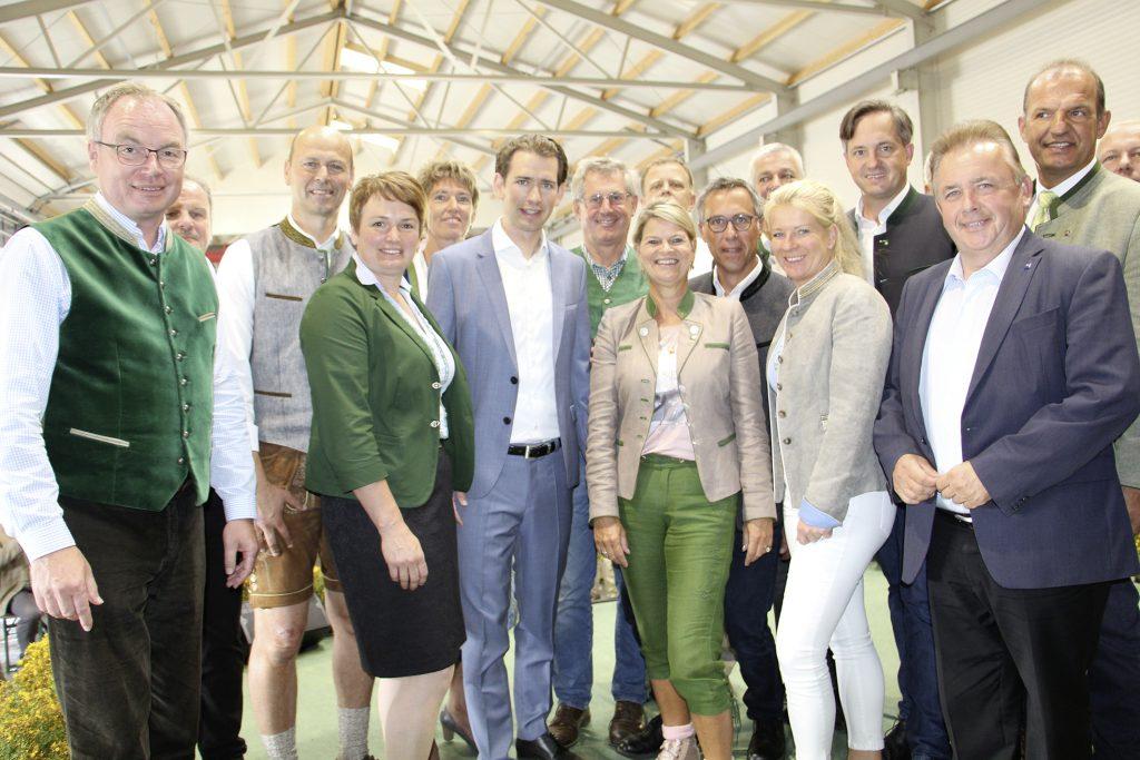 NÖ Bauernbund mit Sebastian Kurz