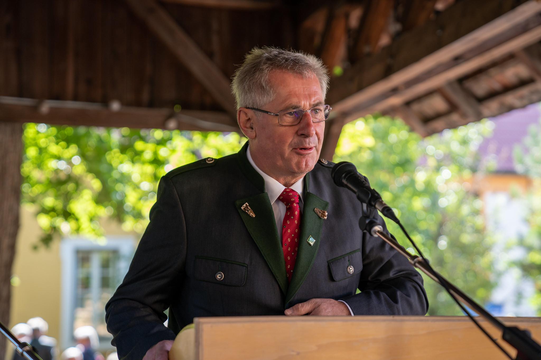 BR Preineder beim Bezirkserntedankfest 2019
