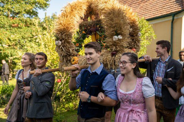 Bezirkserntedankfest Lanzenkirchen 2019