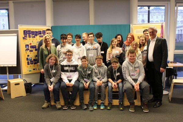 Martin Preineder - Neue Mittelschule aus Pernitz in der Demokratiewerkstatt