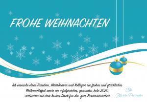 Martin Preineder - Weihnachtsgruesse 2019