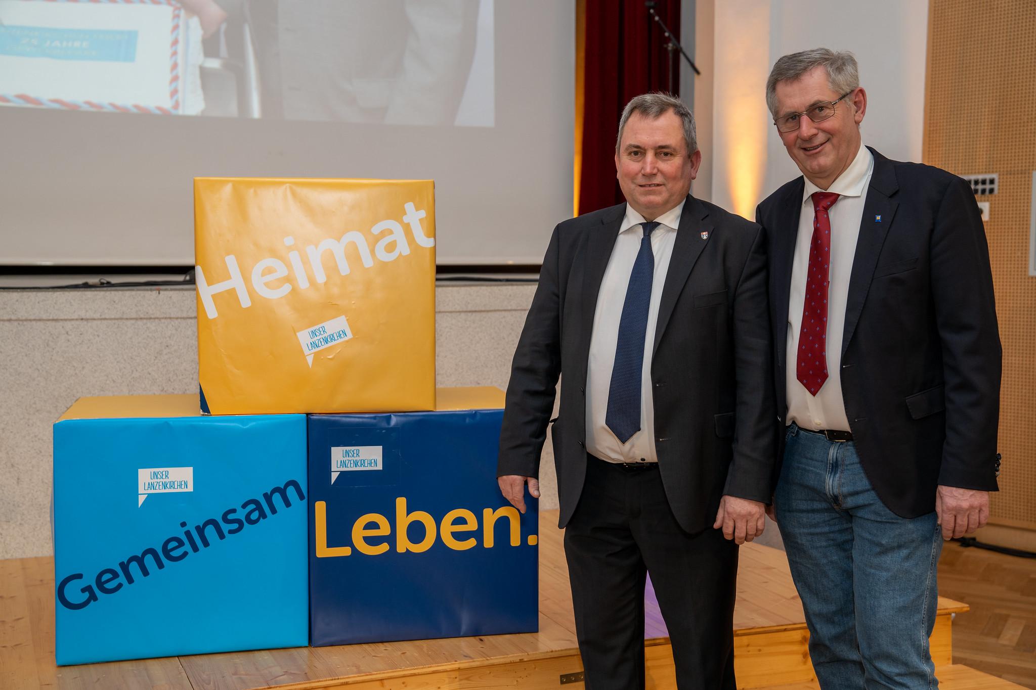 Bgm. Bernhard Karnthaler mit Bundesrat Martin Preineder