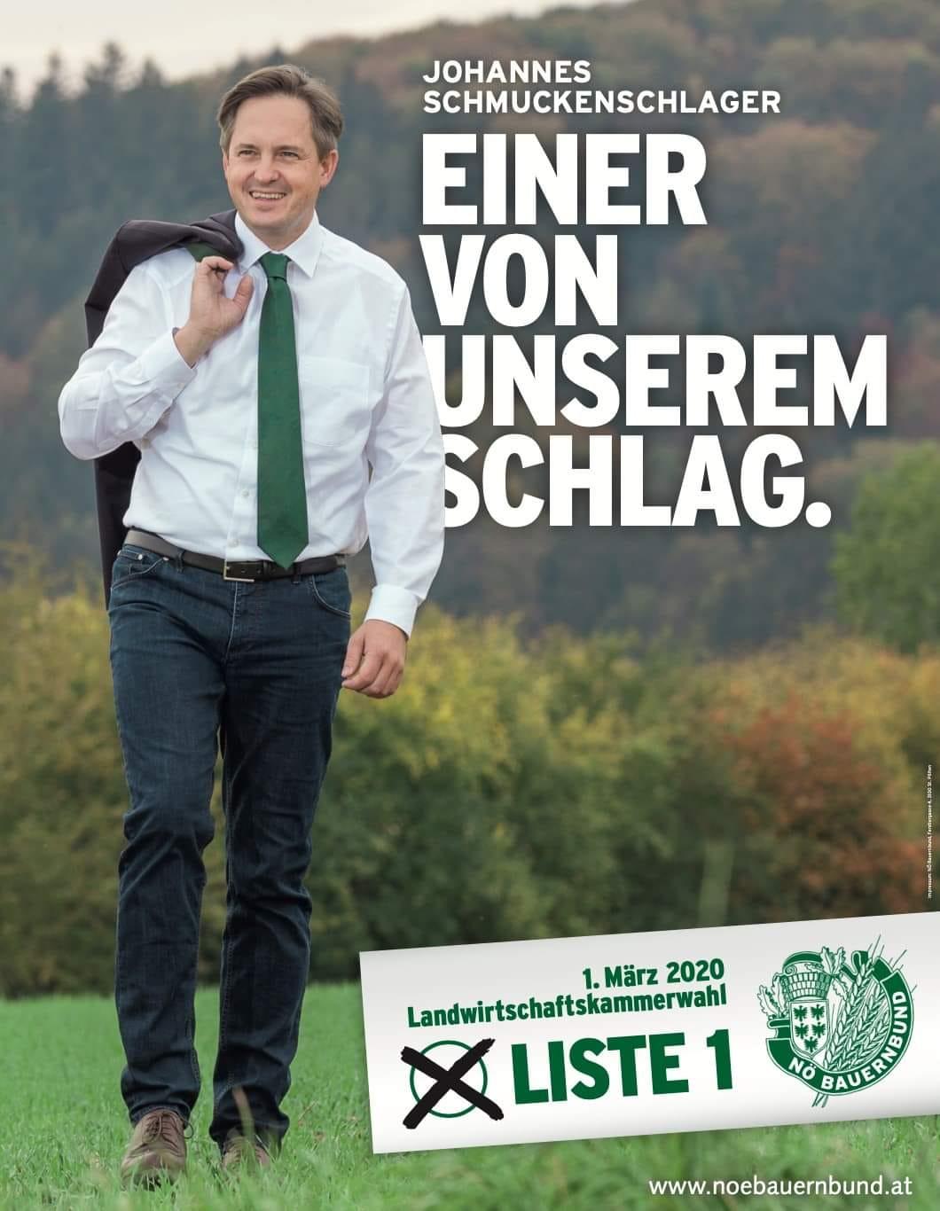Sujet Schmuckenschlager Kammerwahl 2020