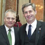 v.li. Gottfried Kneifel - Vorsitzender der Bundesratsfraktion der ÖVP und Martin Preineder - Präsident des Bundesrates