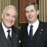 v.li. em.o.Univ.-Prof. Dr.Dr.h.c.mult Dr. Herbert Schambeck - Präsident des Bundesrates a.D. und Martin Preineder - Präsident des Bundesrates