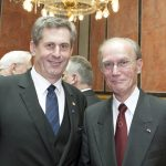 v.li. Martin Preineder - Präsident des Bundesrates und Prof. Albrecht Konecny