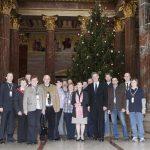 Mag.a Barbara Prammer - Präsidentin des Nationalrates (8.v.re.) und Martin Preineder - Präsident des Bundesrates(5.v.re.) mit den Veranstaltungsteilnehmern