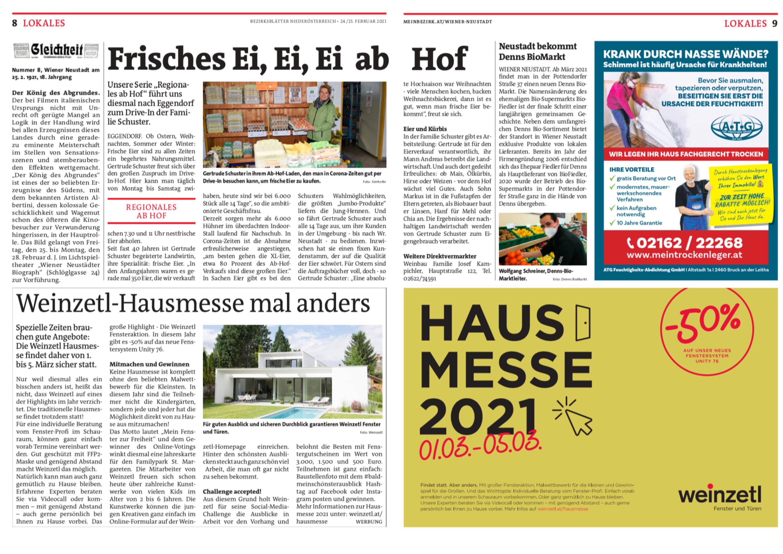 Bezirksblatt-Artikel-Eggendorf