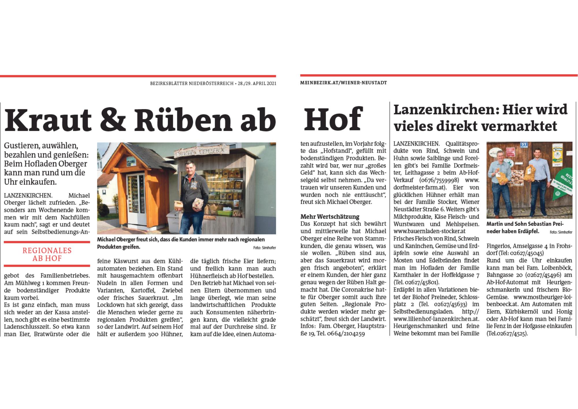 Bezirksblatt-Artikel-Serie-Direktvermarkter_Lanzenkirchen