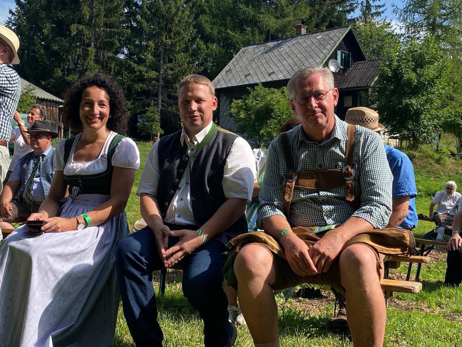LAbg. Waltraud Ungersböck, Kammerobmann-Stv. Johann Stickelberger und BR Martin Preineder